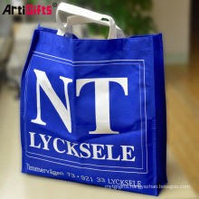 Promotion cheap colorful print nonwoven laminated shopping bag
