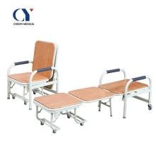 Chaise de lit d'hôpital chaise pliante d'hôpital