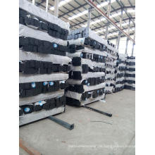 Ornametal Stahlzaunpfosten mit Pulverbeschichtung