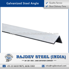 Leading Exporter of High Quality Galvanized Steel Angle at Reasonable Price