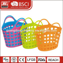 Lady PE material felt shopping basket with handle