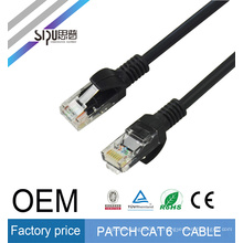 SIPU haute qualité 1 m cat6 utp patch cordon meilleur utp patch câble cat6 prix en gros cat6 cordon de communication