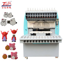 PVC USB Caster Injection Mold Machine