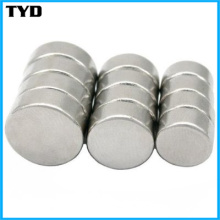 Haute performance magnétique Rare-Earth Cylindre Aimant de néodyme