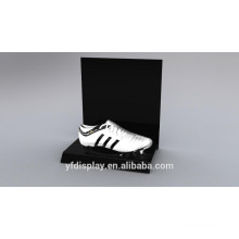 Heißer Verkauf Schwarz Acryl Schuhe Display Regal