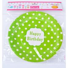 Desenho de placa de placa de papel bonito