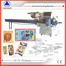 Swsf-450 High Speed Schaum automatische Kissenbeutel Verpackung Verpackungsmaschine