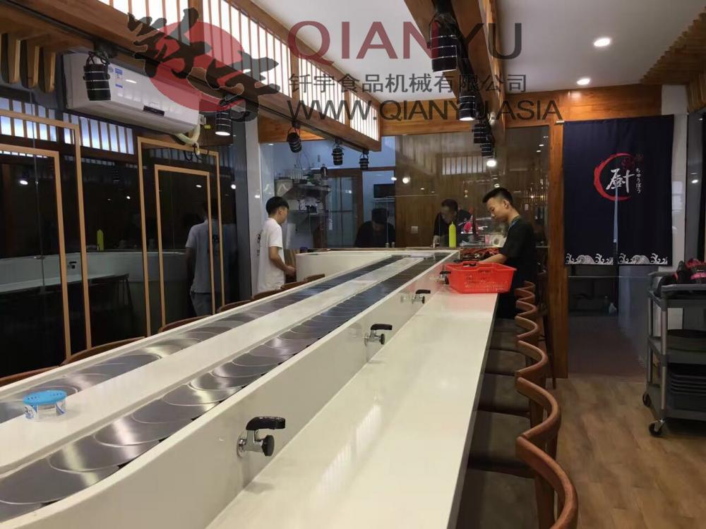Easy Clean Conveyor Belt Sushi Chain