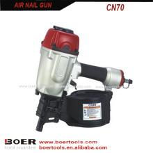 Pistola de prego de bobina de ar CN70
