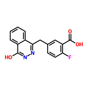 Cas763114-26-7 2-Fluoro - 5-[(4-oxo-3,4-dihydrophthalazin-1-yl) Methyl] Benzoesäure