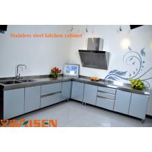 Aisen 2015 Cabinet de cuisine à usage professionnel en acier inoxydable