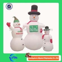 Inflável abominável boneco de neve decoração de Natal inflável abominável decoração de Natal boneco de neve à venda