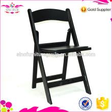 Chaise pliante en plastique extérieure à bas prix