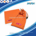 100% Polyester orange sauberes Tuch für Gläser
