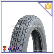 3.00-12 Carcaça de pneus de motocicleta de importação de alta qualidade da China
