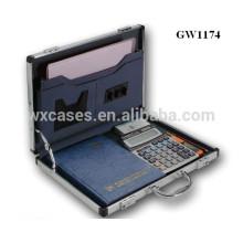 ventas calientes fuertes y alta calidad de aluminio portable caso de attache fabricante