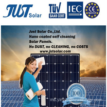300W Mono Solar Panel dengan Nano Coated Self Cleaning