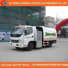 6 rodas de limpeza de alta pressão caminhão 4x2 guardrail limpeza caminhão