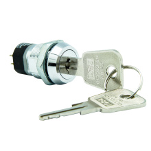 2 Pole 4 Terminals Electric Keylock Switches