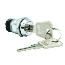 Interrupteurs à clé électriques, 2 pôles et 4 bornes
