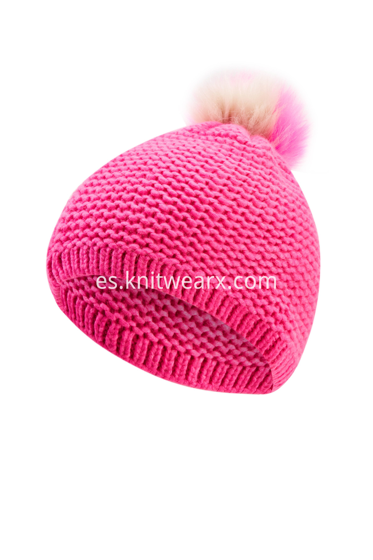 Girls' Beautiful Beanie Child Winter Knit Cap