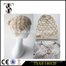 custom accept crochet knit winter hat high quality ladies winter beanies