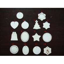 Ceramic Ornaments, Sublimation Ornaments