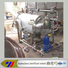 Equipo de esterilización de calefacción eléctrica para alimentos