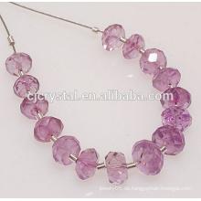 Großhandel Glas Rondelle Perlen zum Schleifen