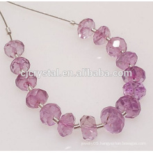 wholesale glass rondelle beads for grinding