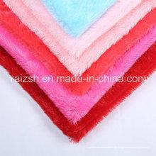 Helle Farbe Stapel Strickstoffe PV Fleece mit günstigen Preis