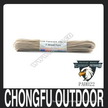 Nylon de alta calidad 550 Paracord nylon vs poliéster paracord nosotros artículos militares