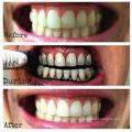 Dientes polaco dientes de carbón activado blanqueamiento grado alimenticio