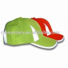 6 painel microfibra reflexivo segurança baseball cap