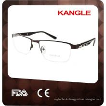2017 half-rim optical frame china eyewear manufacturer