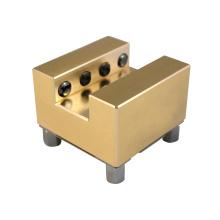 RIN U20 Erowa System Copper Holder EDM CNC Square Brass Electrode Holder  Size 51*51*41