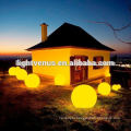 waterproof cordless rechargeable Chrismas plastic ball ornament/ led glow swimming pool ball