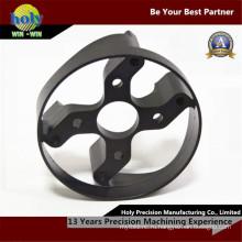 Подгонянный подвергать механической обработке CNC части CNC алюминия частей электрических аксессуаров