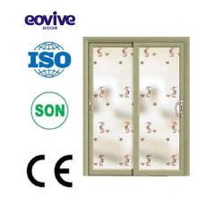 Best sale Aluminum Door three track aluminium sliding doors