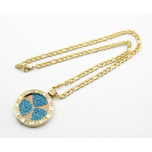 High Quality Gold Plated Stainless Steel Floating Locket Necklace
