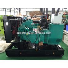 Generador diesel de potencia de zona al aire libre con motor cummins y alternador Stamford