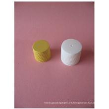 20mm 24mm Blanco Casquillo De Tornillo Acanalado Sin Botella De Plástico