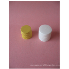 20mm 24mm White Ribbed Screw Cap Without Plastic Bottle