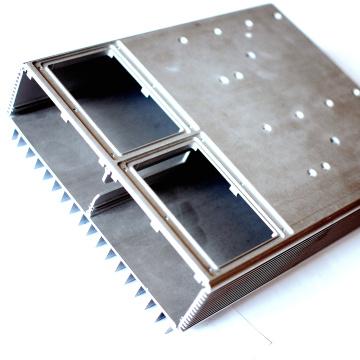 Алюминиевый радиатор для высокоточной обработки с ЧПУ