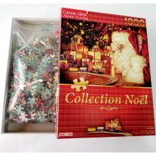 Quebra-cabeça de Natal de 1500 peças para adulto