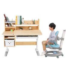 Современный студенческий письменный стол деревянный кабинет детский стол