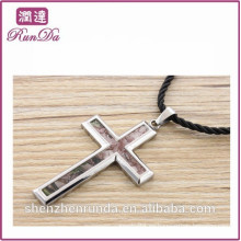2014 venta al por mayor alibaba única cruz colgantes para el hombre