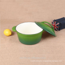 Wholesale round colorful cooking pot