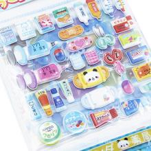 Kids DIY Foam Cartoon Animal Sticker Toys Personal Puzzle Paper Vinyl Kid Putty Stickers