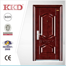 Populärer Entwurf Wohn Stahl Eintrag Tür KKD-103 Made In China vor der Tür